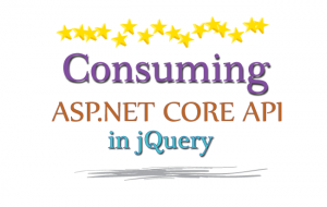 consuming aspnet core api in jquery