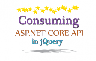 How to Consume ASP.NET Core API in jQuery