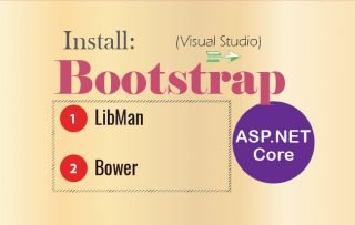 How to Install Bootstrap Package in ASP.NET Core Application in Visual Studio