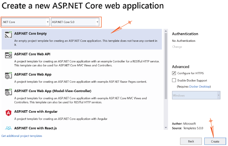 .NET 5.0 version