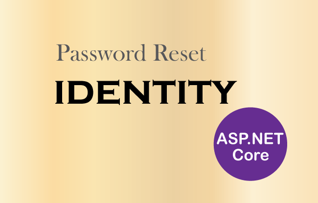 password reset identity