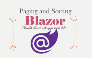 Blazor Number Paging and Sorting