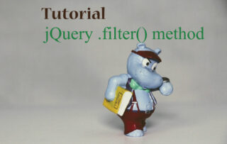 Filtering Elements with jQuery .filter() method