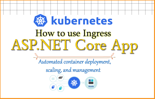 How to use Kubernetes Ingress on an ASP.NET Core app